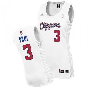 Maillot Femme de Paul Los Angeles Clippers #3 Blanc