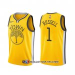 Maillot Golden State Warriors D'angelo Russell Earned Jaune