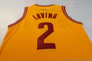 Maillot Jaune Irving Cleveland Cavaliers Revolution 30