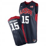 Maillot de Anthony USA NBA 2012 Noir