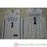 Maillot NCAA Kyrie Irving V-Cuello Blanc