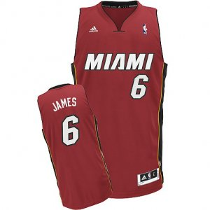 Maillot Rouge James Miami Heat Revolution 30
