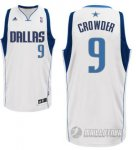 Maillot Blanc Crowder Dallas Mavericks Revolution 30