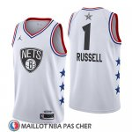 Maillot All Star 2019 Brooklyn Nets Dangelo Russell Blanc