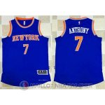 Maillot Authentique New York Knicks Bleu