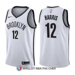 Maillot Brooklyn Nets Joe Harris Association 12 2017-18 Blanc