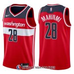 Maillot Washington Wizards Ian Mahinmi Icon 28 2017-18 Rouge