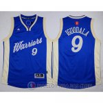 Maillot Golden State Warriors Iguodala Noel #9 Bleu