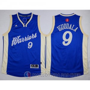 Maillot Golden State Warriors Iguodala No?l #9 Bleu