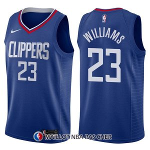 Maillot Los Angeles Clippers Lou Williams Icon 23 2017-18 Bleu