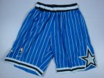 Short retro de Bleu Orlando Magic NBA