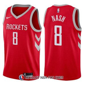 Maillot Houston Rockets Le'bryan Nash Icon 8 2017-18 Rouge