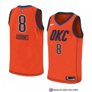 Maillot Oklahoma City Thunder Alex Abrines Earned 2018-19 Orange