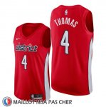 Maillot Washington Wizards Isaiah Thomas Earned Rouge