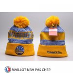 Bonnet Golden State Warriors Jaune Bleu