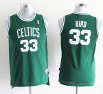 Maillot Enfant de Vert Bird Boston Celtics Revolution 30