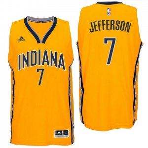 Maillot Pacers Jefferson 7 Jaune