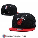 Casquette Miami Heat 9FIFTY Snapback Noir Rouge