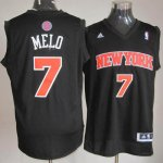 Maillot Melo New York Knicks #7 Noir