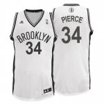 Maillot Blanc Pierce Brooklyn Nets Revolution 30