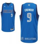 Maillot Bleu Crowder Dallas Mavericks Revolution 30
