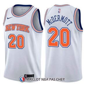 Maillot New York Knicks Doug Mcdermott Statement 20 2017-18 Blanc
