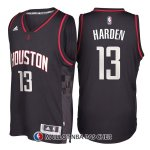 Maillot Authentique Houston Rockets Harden 13 Noir