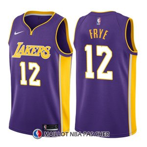 Maillot Los Angeles Lakers Channing Frye Statehombret 12 2017-18 Volet