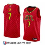 Maillot Atlanta Hawks Jeremy Lin No 7 Statement 2018-19 Rouge
