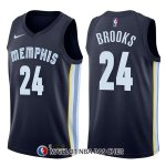 Maillot Memphis Grizzlies Dillon Brooks Icon 24 2017-18 Bleu