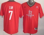 Maillot Lin Houston Rockets #7 Rouge