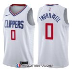Maillot Los Angeles Clippers Sindarius Thornwell Association 0 2017-18 Blanc