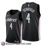Maillot Washington Wizards Admiral Schofield Ville 2019-20 Noir