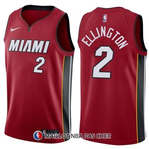 Maillot Miami Heat Wayne Ellington Statement 2 2017-18 Rouge