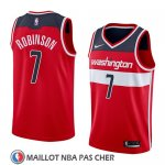 Maillot Washington Wizards Devin Robinson No 7 Icon 2018 Rouge
