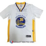 Maillot Authentique Manche Courte Golden State Warriors Duarant 35 Blanc