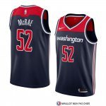 Maillot Washington Wizards Jordan Mcrae Statement 2018 Noir
