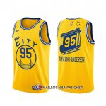 Maillot Golden State Warriors Juan Toscano-anderson Classic Or