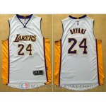 Maillot NBA Authentique Los Angeles Lakers Blanc