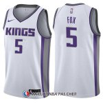 Maillot Sacramento Kings De'aaron Fox Association 5 2017-18 Blanc