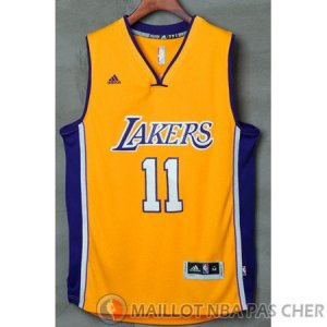 Maillot Lakers ventilateurs Yi Los #11 Jaune