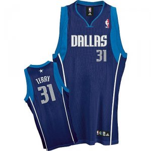 Maillot Dallas Mavericks Terry #31 Bleu Marino