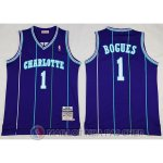Maillot NBA Bogues Charlotte Hornets Pourpre
