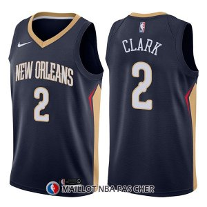 Maillot New Orleans Pelicans Ian Clark Icon 2 2017-18 Bleu