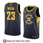 Maillot Indiana Pacers C.j. Wilcox No 23 Icon 2018 Bleu