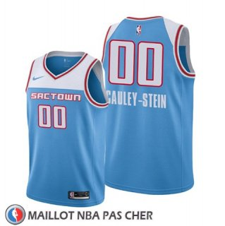 Maillot Enfant Sacramento Kings Willie Cauley-stein Ville Edition 2018-19 Bleu