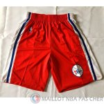 Short Blanc y Rouge Philadelphia 76ers NBA
