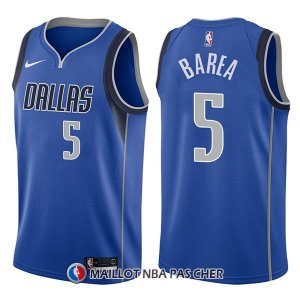 Maillot Dallas Mavericks J.j. Barea Icon 5 2017-18 Bleu
