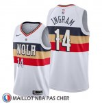 Maillot New Orleans Pelicans Brandon Ingram Earned Blanc