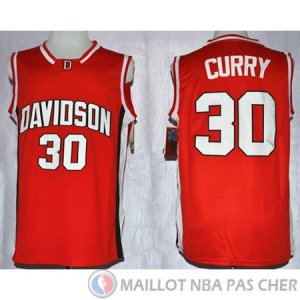 Maillot NCAA Wildcat Stephen Curry Rouge